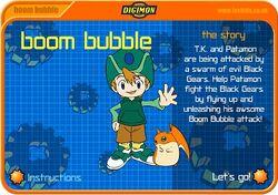 Boom Bubble title