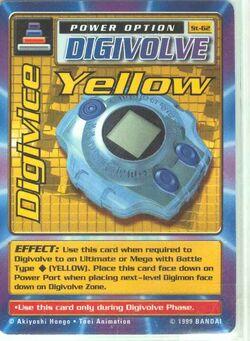 Digivice Yellow St-62 (DB)