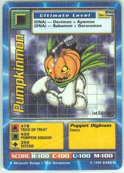 Pumpkinmon Bo-37 (DB)