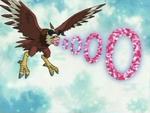 Aquilamon's Blast Rings AttackAnimation