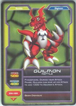 Guilmon DM-188 (DC)