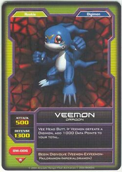 Veemon DM-006 (DC)