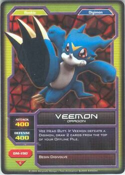 Veemon DM-190 (DC)