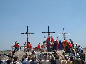 Crucifixion in San Fernando