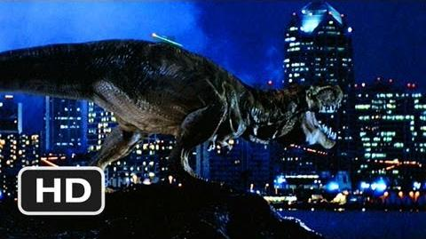 The Lost World Jurassic Park (7 10) Movie CLIP - The T-Rex Takes San Diego (1997) HD