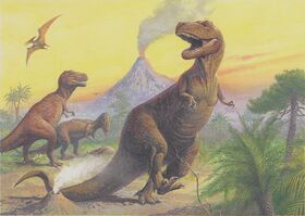 3 Tirannosauri