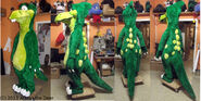 Dweeb dino remake of old costume by atalonthedeer-d659zb2