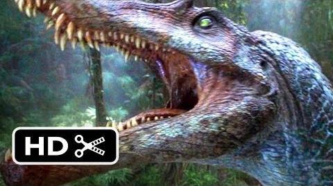 Jurassic Park 3 (3 10) Movie CLIP - Spinosaurus vs