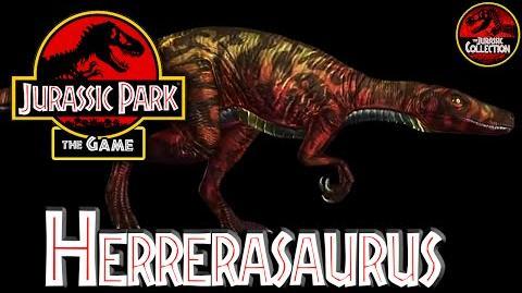 Jurassic Park The Game HERRERASAURUS Behind the Scenes