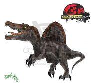 The Lost Files pinosaurus