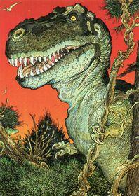 William Stout Tyrannosaurus Rex
