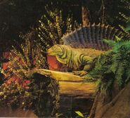 Disney world dimetrodon