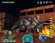 Triceratops Dino Stalker