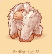 Gorilloz white