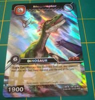 Megaraptor TCG Card 2-Colossal