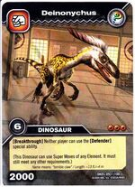 Deinonychus TCG Card 2-Collosal (French)