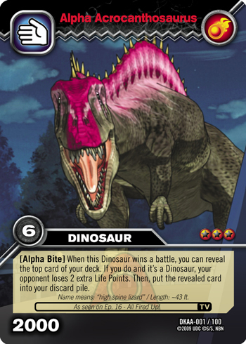 Dinosaur king tcg series 3 alpha dinosaurs attack card gallery dinosaur king fandom - Dinausaure king ...