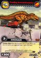 Acrocanthosaurus-Drift(er-ing) TCG Card (German)