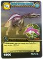 Spinosaurus - Spiny Battle Mode TCG Card 3-DKBD-Silver