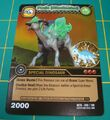 Parasaurolophus - Paris DinoTector TCG Card 3-DKTA-Gold (French)
