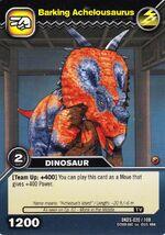 Achelousaurus-Barking TCG Card (German)