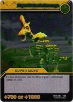 Super Nature's Revenge TCG Card 1-Silver