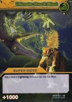 Ultimate Shock Blast TCG Card 1-Silver 1b