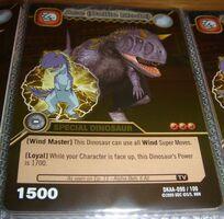 Carnotaurus - Ace Battle Mode TCG Card 2-DKAA-Gold (German)