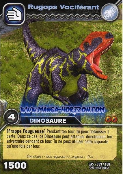 Image 039 100 rugops dinosaur king fandom powered by wikia - Carte dinosaure king ...