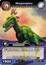 Megaraptor TCG card