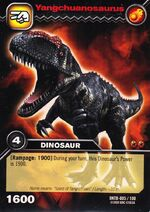 Yangchuanosaurus TCG Card (German)