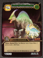 Parasaurolophus - Paris Battle Mode TCG Card 3-DKBD-Silver