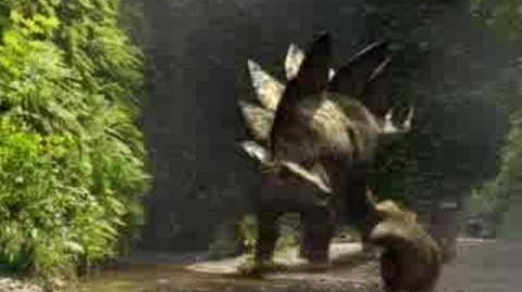 Stegosaurus Threat - Walking With Dinosaurs - BBC