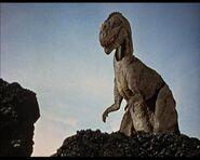 Ceratosauro di Un milione di anni fa