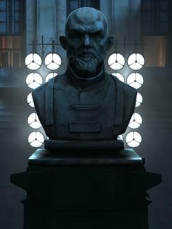 Benjamin Holger statue