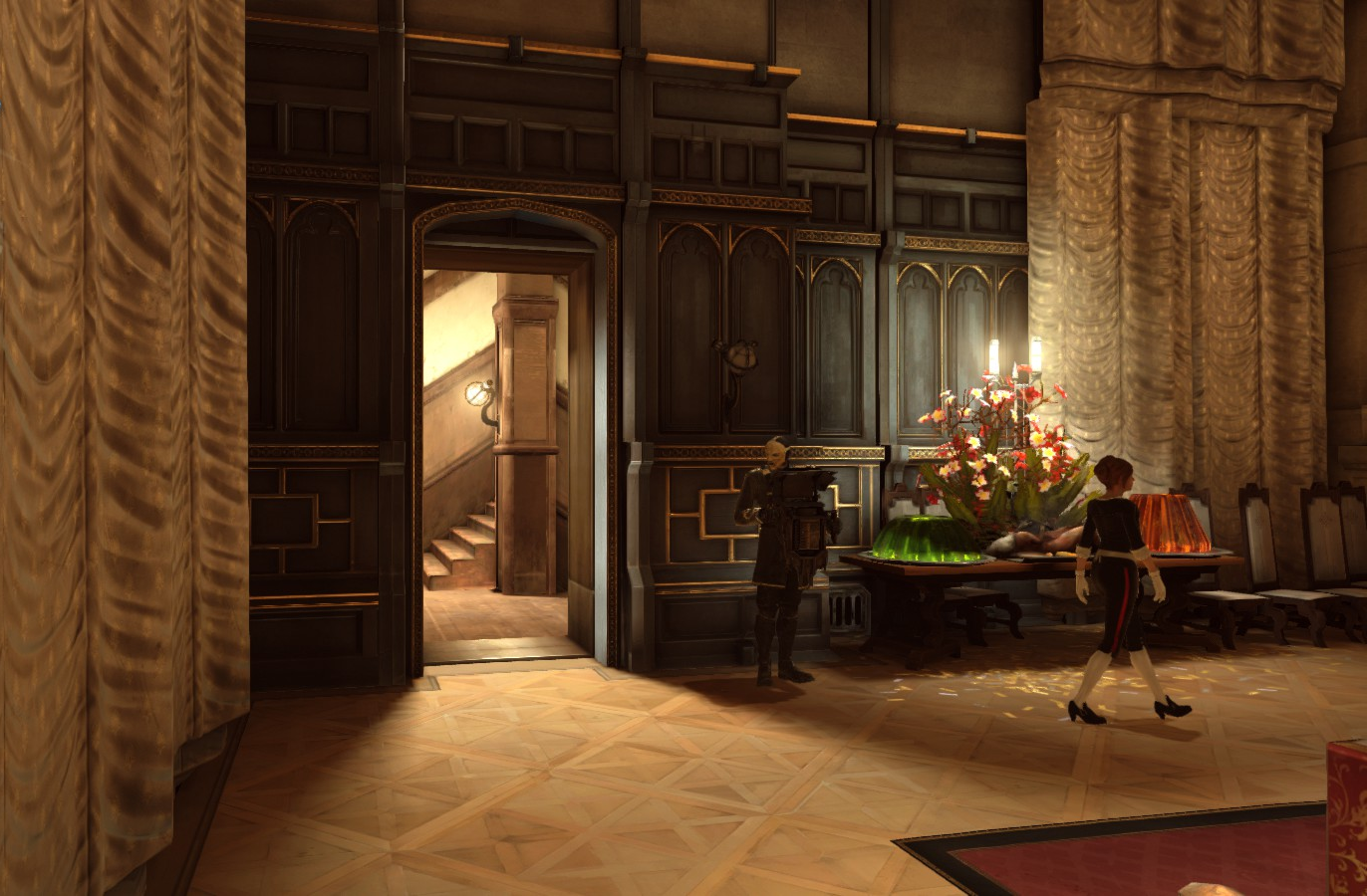 Image Boyle Mansion Servant Access Png Dishonored Wiki