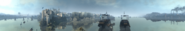 Wrenhaven river panorama