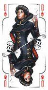 Tarot queen skulls