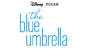 The blue umbrella logo margins