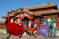 Timon, Pumbaa & companies in Japan