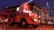 Mater as a fire engine