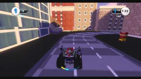 DISNEY INFINITY Racing Parade (Featured Toy Box)