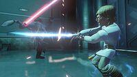 Lukes counterattack