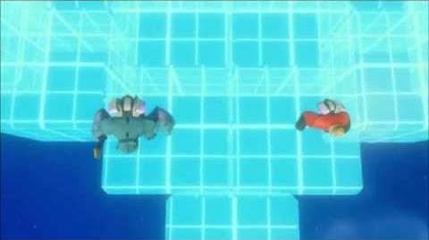 Infinity Machine - Sulley, Mr Incredible, Rocket Booster
