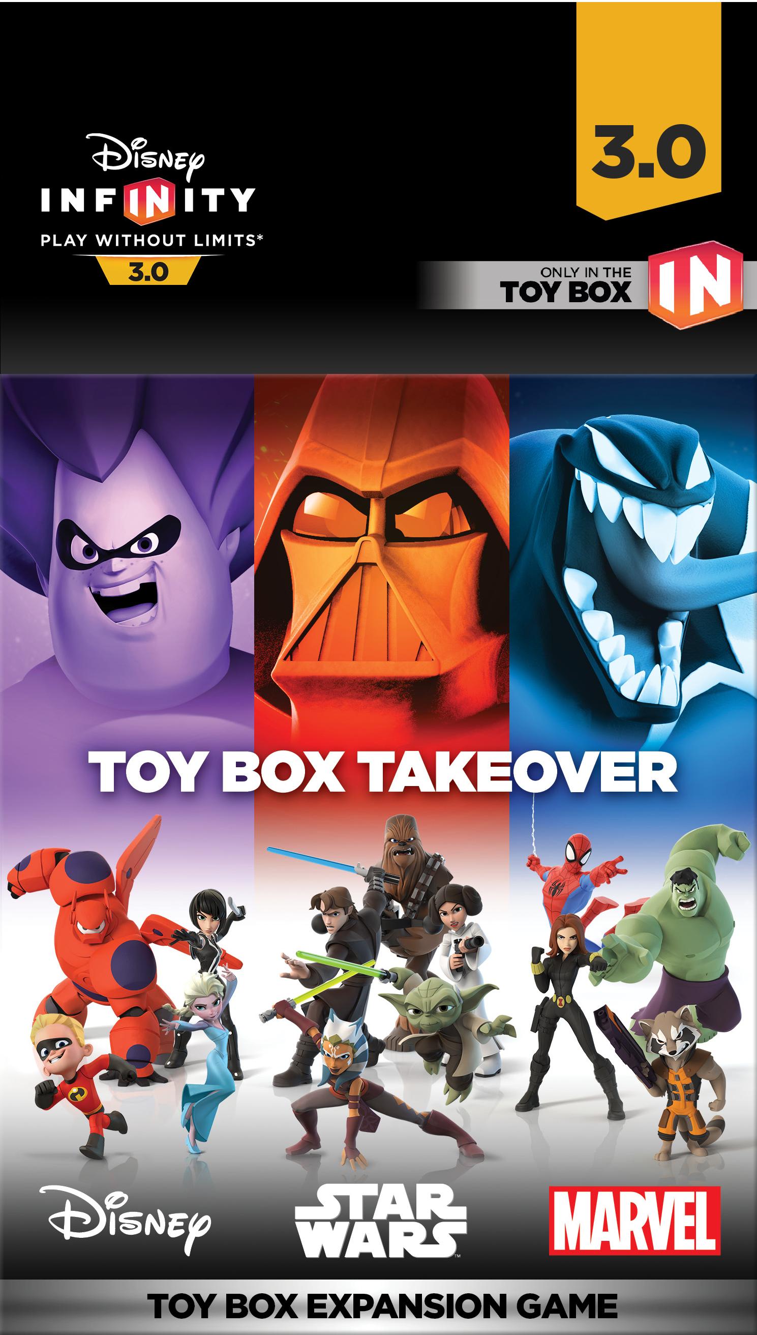 Toy Box Takeover Disney Infinity Wiki Fandom Powered