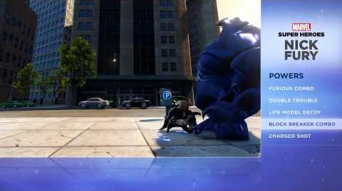Nick Fury - Disney Infinity Marvel Super Heroes (2