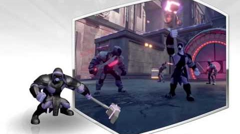 Disney Infinity 2.0 Ronan preview video.