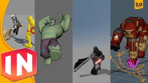 Disney Infinity 3.0 - Premium Figures In-Game Footage - EXCLUSIVE LOOK