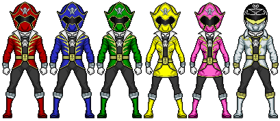 Gokaiger by omniferis-d53iuyj