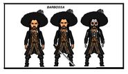 Micro heroes pirates of the caribbean barbossa by scooby1314-d6e3lsi